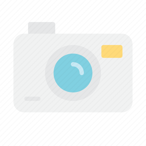 camera, photo, summer icon