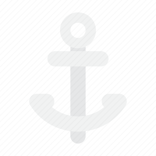 anchor, sea, summer icon