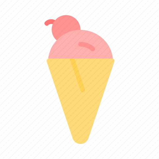 ice cream, summer, sweet icon
