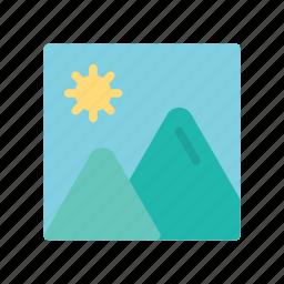 image, photo, summer icon