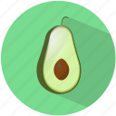 avocado, food, fruit, healthy, refreshing, summer, tasty icon