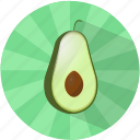 avocado, cocktail, food, fruit, refreshing, summer, tasty icon