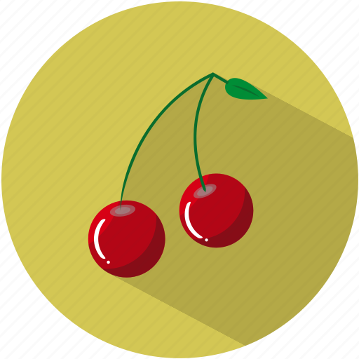 cherries, cherry, dessert, food, fruit, healthy, pips icon