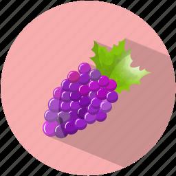 dessert, food, grapes, purple, tasty, vegetable, wine icon