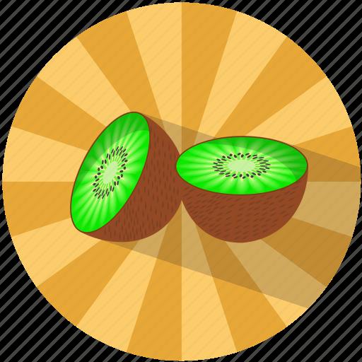 Food, fruit, kiwi, refreshing, summer, tasty, vegetable icon - Download on Iconfinder