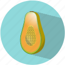 caribbean, food, fruit, healthy, papaya, summer, vegetable icon