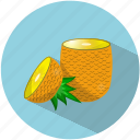 food, fruit, juice, pineapple, refreshing, summer, tasty icon