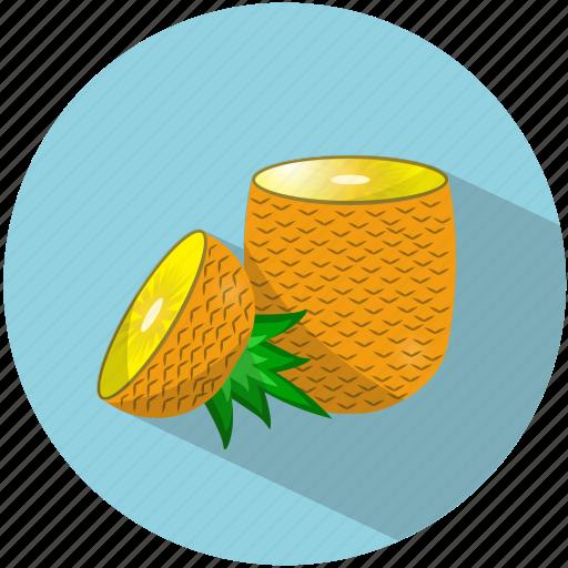 food, fruit, juice, pineapple, refreshing, summer, tasty icon