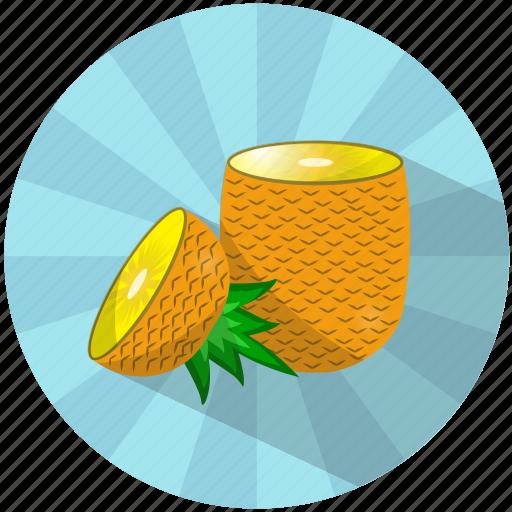 caribbean, food, fruit, juice, pineapple, summer, tasty icon