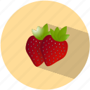 strawberry, dessert, food, fruit, healthy, red, sweet