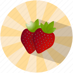 dessert, fruit, love, romantic, strawberry, summer, tasty icon