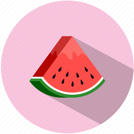 eating, food, fresh, fruit, summer, tasty, watermelon icon
