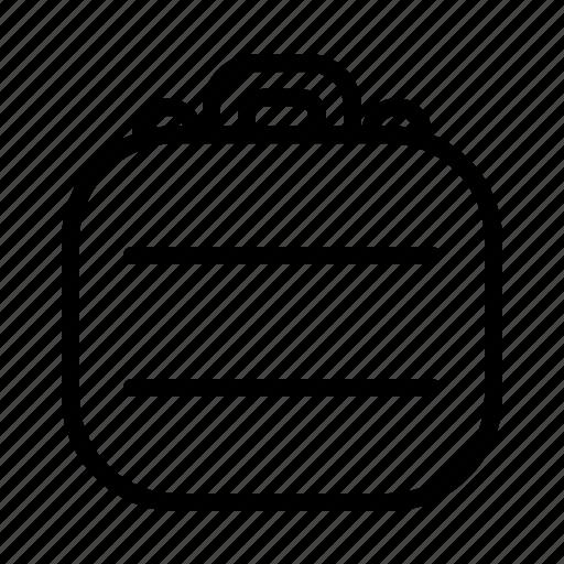 bag, case, holdall, suitcase icon