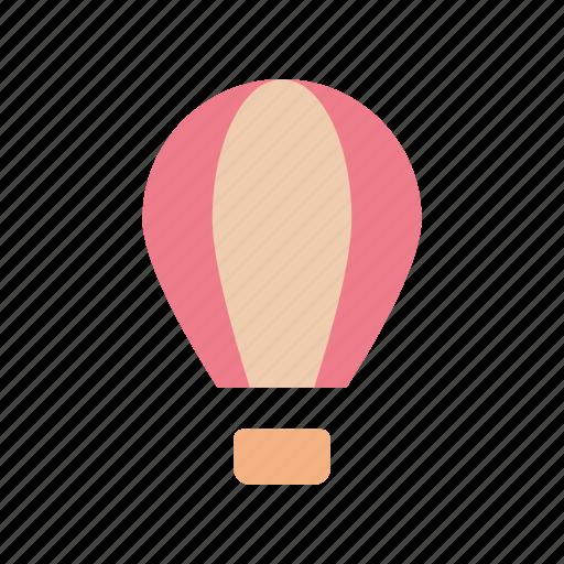 balloon, transportation, vehicle icon