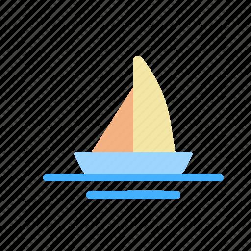 boat, ship, transportation, vehicle icon