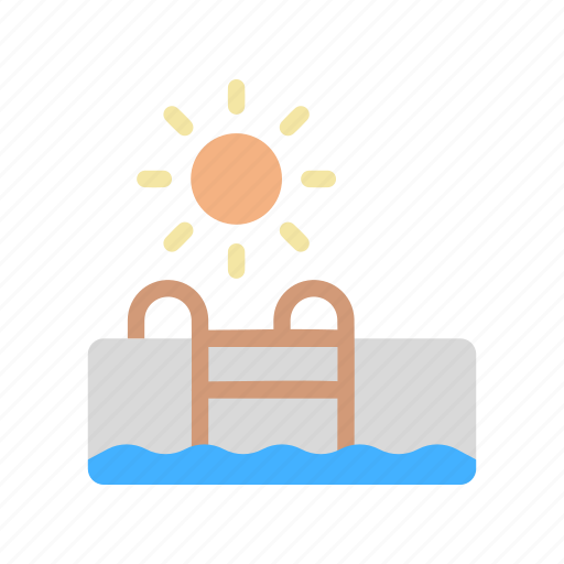 pool, summer, swimming, water icon