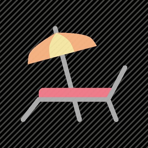 beach, holiday, summer, vacation icon