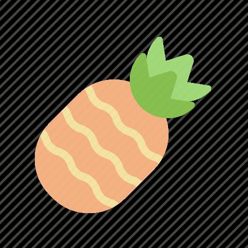 fruit, pineapple, sweet, tropical icon