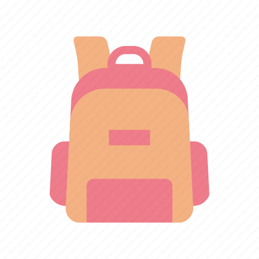 back pack, education, traveling icon
