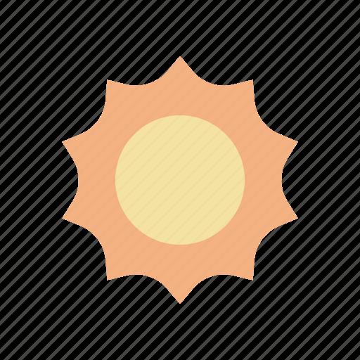 summer, sun, sun shine, weather icon