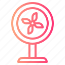 fan, furniture, household, ventilator icon