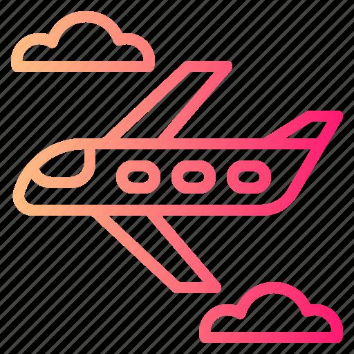Flight, plane, transportation, travel icon - Download on Iconfinder