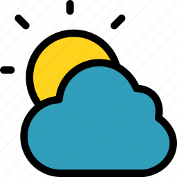 christmas, cloudy, holiday, holidays, summer, vacation, winter icon