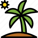 christmas, holiday, holidays, palm, summer, vacation, winter icon