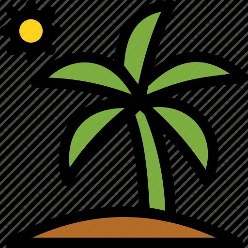 christmas, holiday, holidays, palm, summer, vacation, winter icon