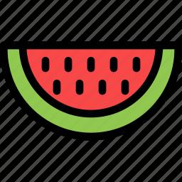 christmas, holiday, holidays, summer, vacation, watermelon, winter icon