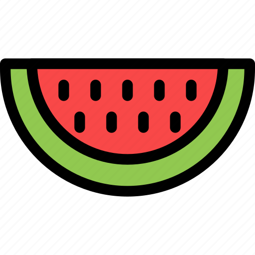 christmas, holiday, holidays, summer, vacation, watermelon, winter icon