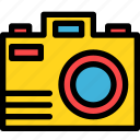 camera, christmas, holiday, holidays, photo, summer, vacation icon