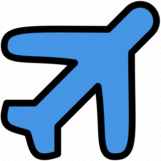 airplane, christmas, holiday, summer, vacation, winter icon