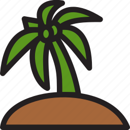 christmas, holiday, palm, summer, tree, vacation, winter icon
