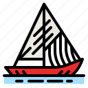 boat, sailing, sports, competition, transportation