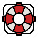 lifesaver, lifeguard, lifebuoy, help, floating