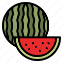 watermelon, fruit, food, healthy, natural