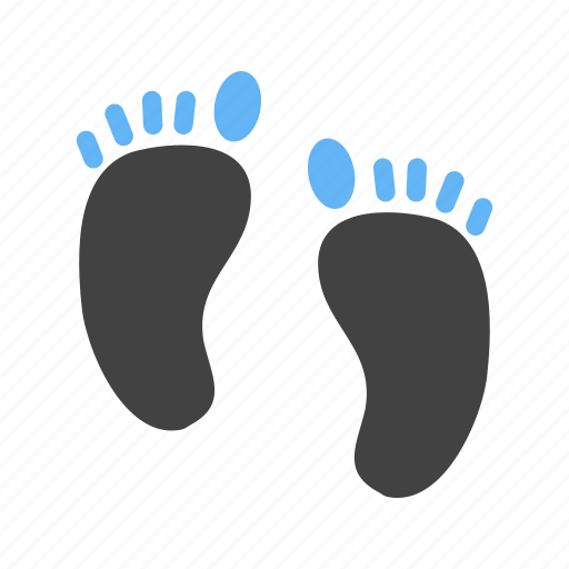 Body, feet, foot print, human feet, man, sand, walk icon - Download on Iconfinder