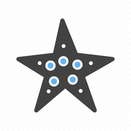 animals, beach, coral, fish, ocean, sea, star fish icon