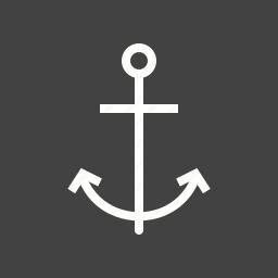 anchor, boating, hold, marine, ocean, ship, steady icon