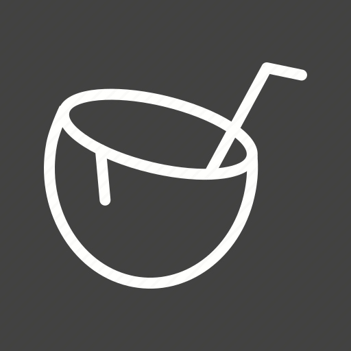 Beach, cocktail, coconut, coconut water, drink, healthy, juice icon - Download on Iconfinder