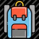 backpack, bag, travel