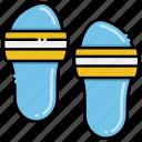footwear, sandal, slippers icon