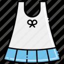 dress, girl, summer icon