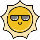 cool, shade, sun icon