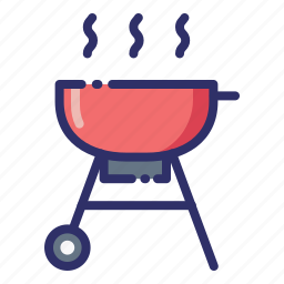 barbecue, bbq, charcoal, cooking, grill, hot, summer icon