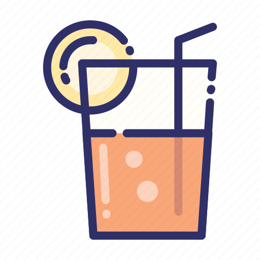 beverage, cocktail, drink, ice, juice, smoothies, summer icon