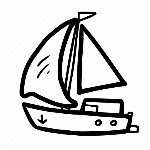 boat, sail, ship, summer, transport, transportation, travel icon