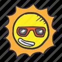 hot, star, summer, sun