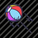 ball, beach, beach ball, sport, summer, vacation, volley icon